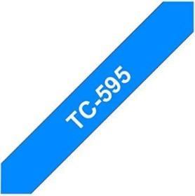 Brother TC-595 9mm, blau auf weiß (TC595)