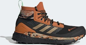 adidas Terrex Free Hiker Gore-Tex core black/hemp/glory mint (men) (FV6791)