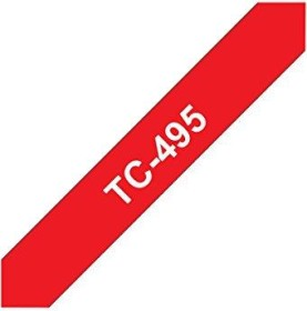 Brother TC-495 9mm, red on white (TC495)