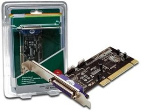 Digitus DS-33040, 2x seriell/1x parallel, PCI