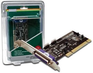 Digitus DS-33040, 2x serial/1x parallel, PCI