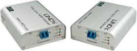 Lindy HDMI 10.2G optical fibre/Fibre extender, HDMI, LC-Duplex MM, up to 300m/450m (38163)