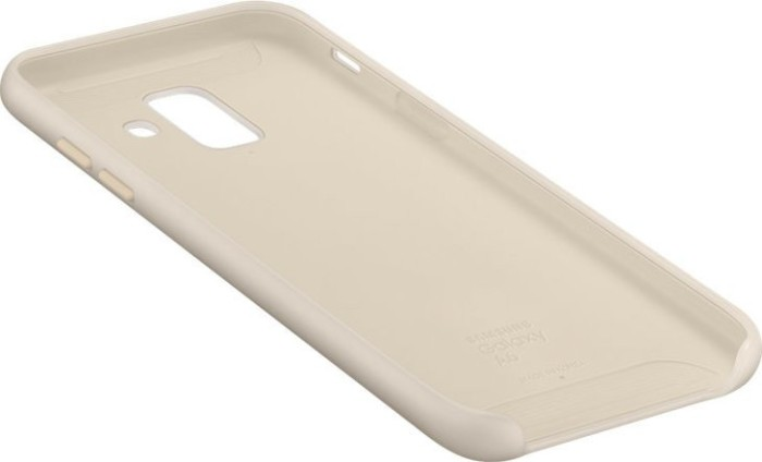 Samsung ef pa600cf dual layer cover für galaxy a6 2018 gold ab