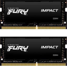 Kingston HyperX Impact SO-DIMM Kit 64GB, DDR4-3200, CL20-22-22 (HX432S20IBK2/64)