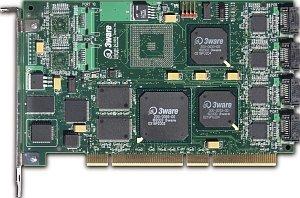 LSI 3ware Escalade 8506-8 bulk, 64bit PCI