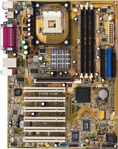 ASUS P4PE-X/SE, i845PE (PC-3200 DDR)