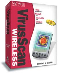 Network Associates: McAfee VirusScan Wireless 1.0 (englisch) (PC) (VWS-0001-UK-100)