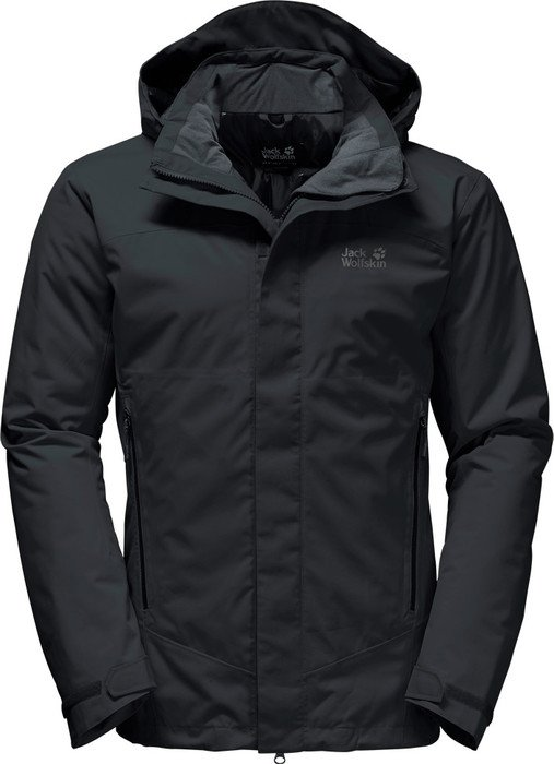 Jack Wolfskin Northern Edge Jacket black (men) (1107861-6000)
