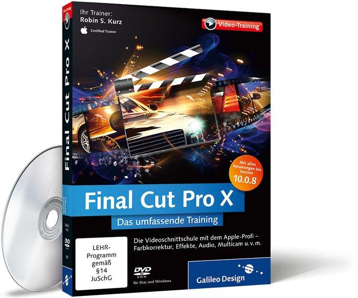 Galileo Press: Final Cut Pro X (deutsch) (PC/MAC)