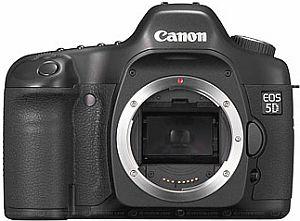 Canon EOS 5D schwarz Gehäuse (0296B004/0296B040)