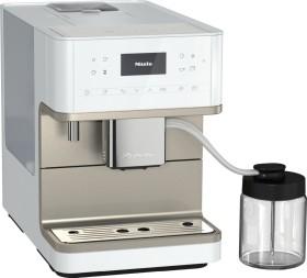 Miele CM 6360 MilkPerfection lotosweiß/clean steel metallic (11580960)