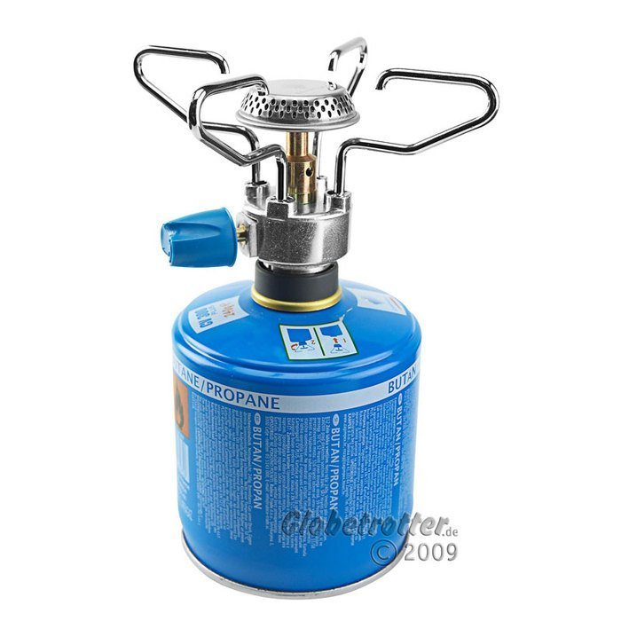 Campingaz Bleuet Micro Plus gas cooker -- ©Globetrotter 2009