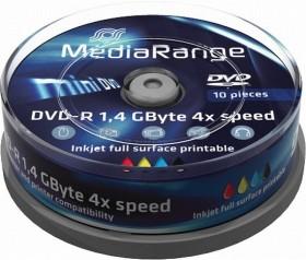 MediaRange DVD-R 1.4GB, 10er Spindel printable (MR430)