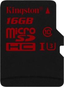 Kingston R90/W80 microSDHC 16GB, UHS-I U3, Class 10 (SDCA3/16GBSP)