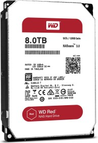 Western Digital WD Red 8TB, SATA 6Gb/s (WD80EFZX)