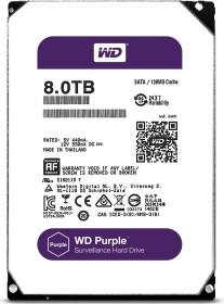 Western Digital WD Purple 8TB, SATA 6Gb/s (WD80PUZX)