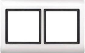 Merten Aquadesign Rahmen 2fach, polarweiß (400219)