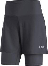 Gore Wear R5 2in1 Laufhose kurz schwarz (Damen) (100623-9900)
