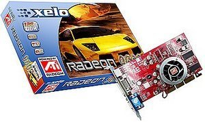 Xelo Radeon 9600SE, 128MB DDR, DVI, TV-out, AGP