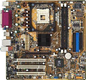 ASUS P4S800-MX (PC-3200 DDR)