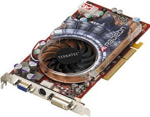 TerraTec Mystify Radeon 9800 XT, 256MB DDR, DVI, TV-out, AGP (7400)