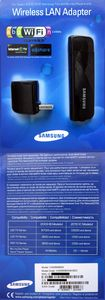 Samsung WIS09ABGN LinkStick WLAN adapter, USB 2.0