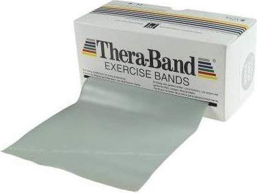 Thera-Band Übungsband 5.5m silber (20070) -- via Amazon Partnerprogramm