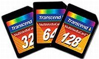 Transcend MultiMedia Card (MMC)  128MB (TS128MMC)