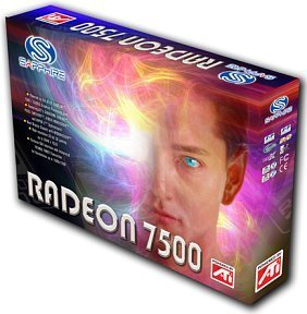 Sapphire Radeon 7500LE, 128MB (SDR), DVI, TV-out, low profile, AGP