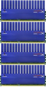 Kingston HyperX T1 XMP DIMM Kit 8GB, DDR3-2133, CL9-11-9-27 (KHX2133C9AD3T1FK4/8GX)