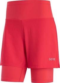 Gore Wear R5 2in1 Laufhose kurz hibiscus pink (Damen) (100623-AK00)