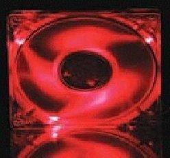 Antec Red LED Fan, 80mm