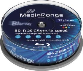 MediaRange BD-R 25GB 4x, 25er Spindel printable (MR504)