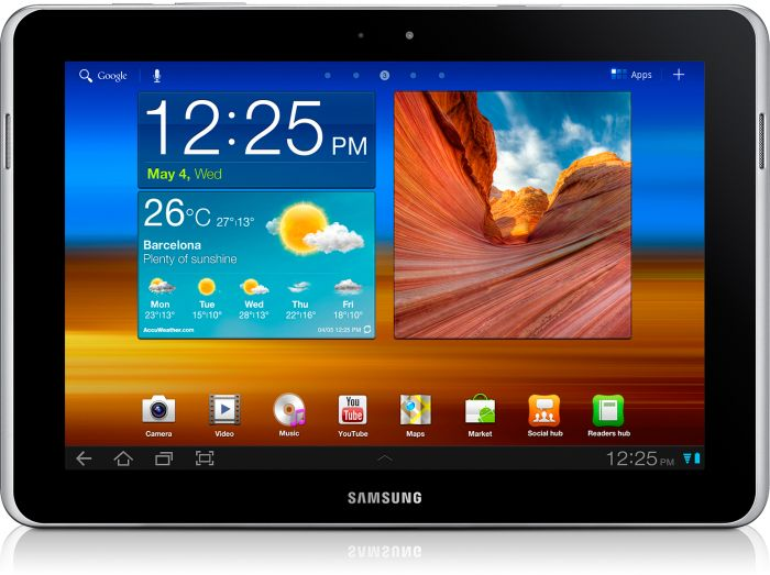 Samsung Galaxy Tab 10.1N P7511 64GB weiß (GT-P7511UWEDBT)
