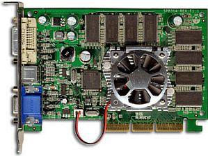 Sparkle SP8831XT-DT, GeForceFX 5600XT, 128MB DDR, DVI, TV-out, AGP