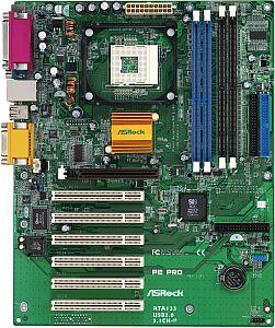 ASRock PE Pro, SiS 645 [SDR/PC-2700 DDR]