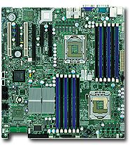 Supermicro X8DTi bulk, i5520 (dual Socket 1366, triple PC3-10667R reg ECC DDR3)