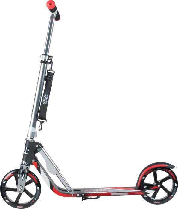 Hudora Big Wheel RX-Pro 205 Scooter red/black (14758)