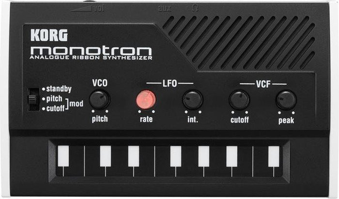 Korg monotron Classic analog Ribbon Synthesizer