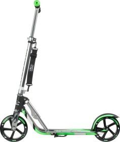 Hudora Big Wheel RX-Pro 205 Scooter schwarz/grün (14708/01)