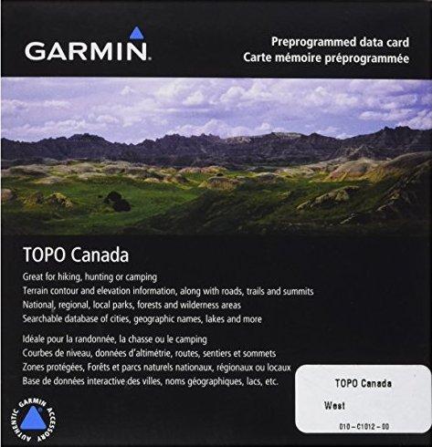 Garmin: Digitale Karten auf CD - Topografische Karte Kanada (PC) -- via Amazon Partnerprogramm