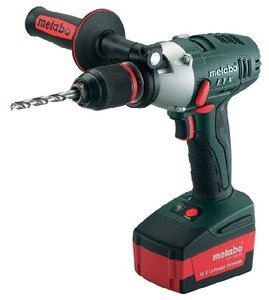 Metabo SB18LTX-impulse cordless combi drill incl. case (6.02148.50)