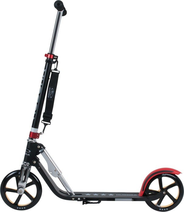 hudora big wheel rx pro 205 scooter black red gold 14759 starting from uk 2018. Black Bedroom Furniture Sets. Home Design Ideas