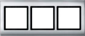 Merten Aquadesign Rahmen 3fach, aluminium (400360)