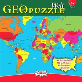 Amigo GeoPuzzle World (00381)