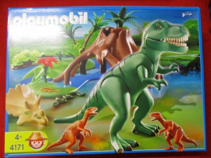 playmobil - Dinos - T-Rex mit Velociraptoren (4171) -- via Amazon Partnerprogramm