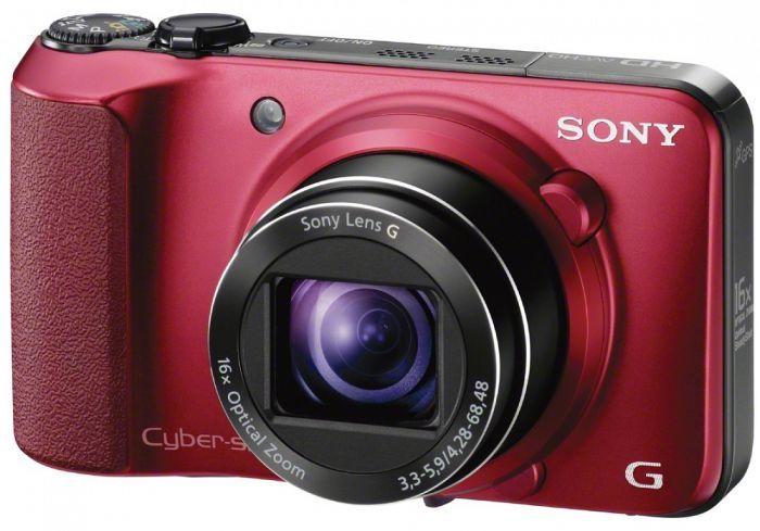 Sony Cyber-shot DSC-HX10V red