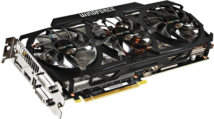 Gigabyte GeForce GTX 780 Ti GHz Edition, 3GB GDDR5, 2x DVI, HDMI, DisplayPort (GV-N78TGHZ-3GD)