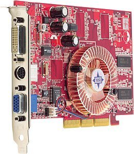 MSI FX5200-TD64, GeForceFX 5200, 64MB DDR, DVI, TV-out, AGP (MS-8907-050)