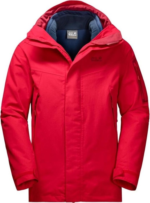 Jack Wolfskin Cascade Mountain Jacke ruby red (Herren) (1109541 2505)